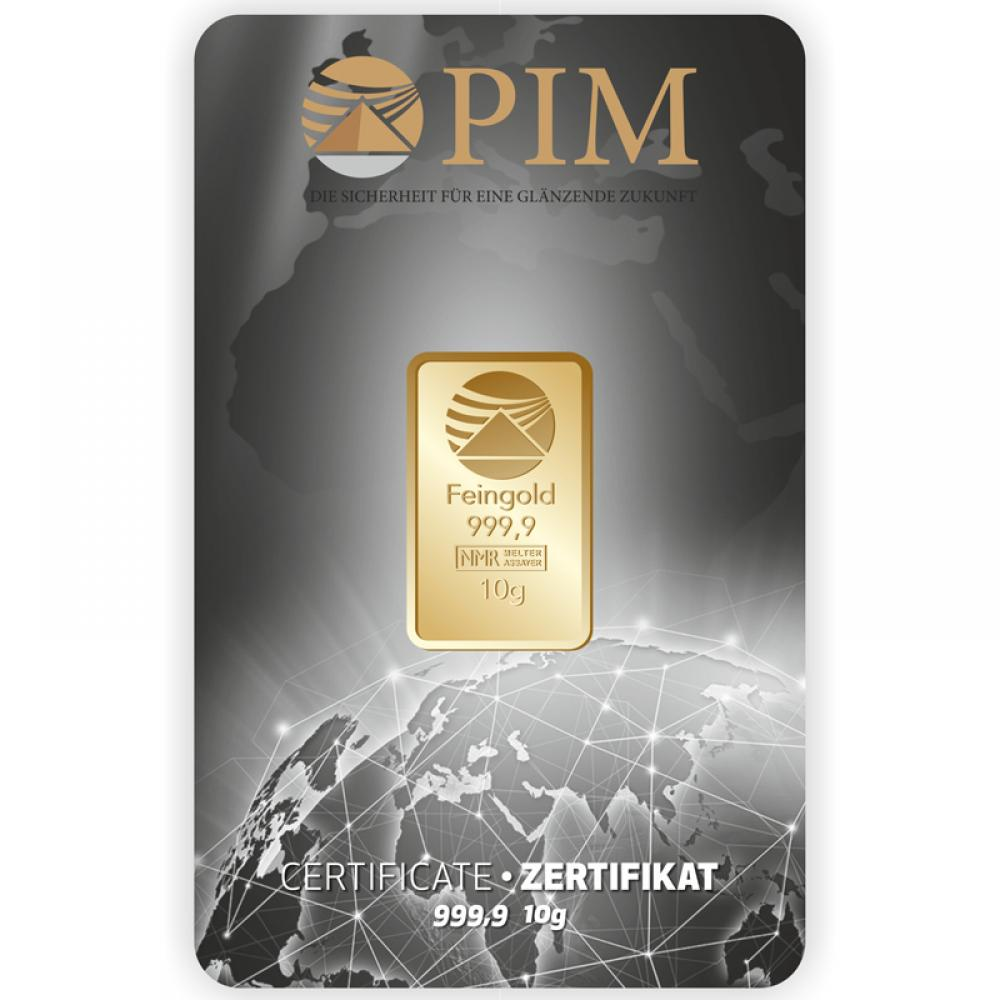 PIM Gold 10g Goldbarren